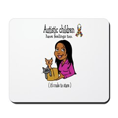 Autistic Children ~ Mousepad