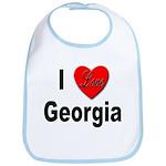 I Love Georgia Bib