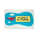 I'm Going to be a PapPap! Rectangle Magnet (10 pac