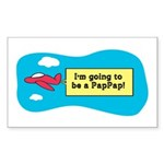 I'm Going to be a PapPap! Rectangle Sticker