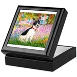 Garden / Rat Terrier Keepsake Box
