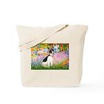 Garden / Rat Terrier Tote Bag
