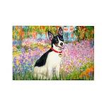 Garden / Rat Terrier Rectangle Magnet (10 pack)
