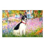 Garden / Rat Terrier Postcards (Package of 8)
