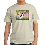 Garden / Rat Terrier Light T-Shirt