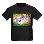 Garden / Rat Terrier Kids Dark T-Shirt
