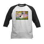 Garden / Rat Terrier Kids Baseball Jersey