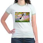 Garden / Rat Terrier Jr. Ringer T-Shirt