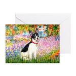 Garden / Rat Terrier Greeting Cards (Pk of 10)