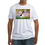 Garden / Rat Terrier Fitted T-Shirt