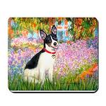 Garden / Rat Terrier Mousepad