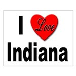 I Love Indiana Small Poster