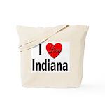I Love Indiana Tote Bag