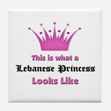 This is what an Lebanese Princess Looks Like Tile