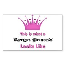 This is what an Kyrgyz Princess Looks Like Decal