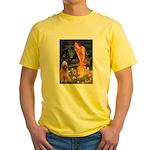 Fairies / Briard Yellow T-Shirt