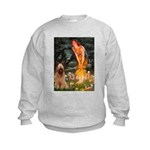 Fairies / Briard Kids Sweatshirt
