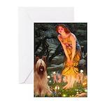 Fairies / Briard Greeting Cards (Pk of 10)