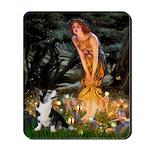 Fairies / Briard Mousepad