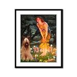 Fairies / Briard Framed Panel Print