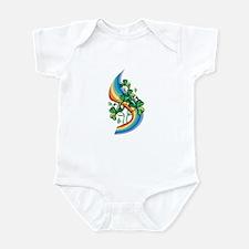 Rainbow and Shamrocks Infant Bodysuit