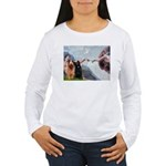Creation / Briard Women's Long Sleeve T-Shirt