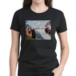 Creation / Briard Women's Dark T-Shirt