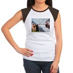 Creation / Briard Women's Cap Sleeve T-Shirt