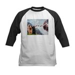 Creation / Briard Kids Baseball Jersey