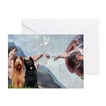 Creation / Briard Greeting Card
