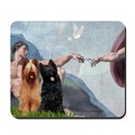 Creation / Briard Mousepad