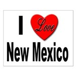 I Love New Mexico Small Poster