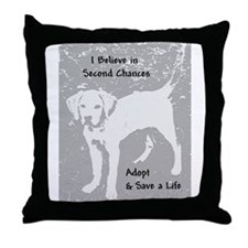 Second Chances Throw Pillow