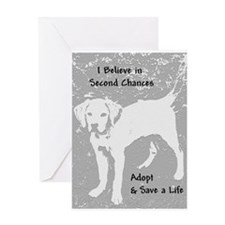Second Chances Greeting Card