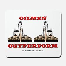 oilmen Outperform Mousepad