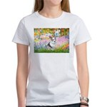 Garden / Corgi (bm) Women's T-Shirt
