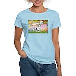 Garden / Corgi (bm) Women's Light T-Shirt