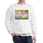 Garden / Corgi (bm) Sweatshirt