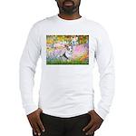 Garden / Corgi (bm) Long Sleeve T-Shirt