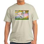 Garden / Corgi (bm) Light T-Shirt