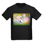 Garden / Corgi (bm) Kids Dark T-Shirt