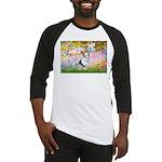 Garden / Corgi (bm) Baseball Jersey