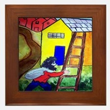 """""""In the Style of Chagall"""" Framed Tile"""