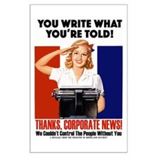 Corporate News Large Poster