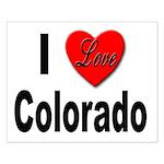 I Love Colorado Small Poster