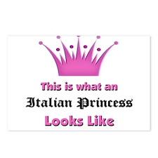 This is what an Italian Princess Looks Like Postca