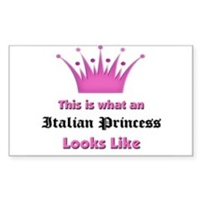 This is what an Italian Princess Looks Like Sticke