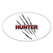 BAR Hunter... Oval Decal