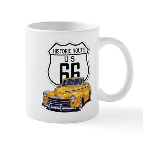 Classic Car Route 66 Mug