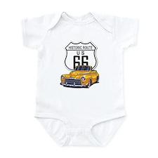 Classic Car Route 66 Infant Bodysuit